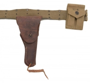 Leather Army Pistol Holester