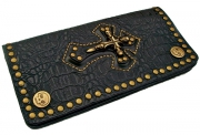 Leather Army Purse