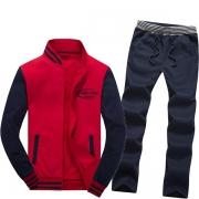 Men Cotton Fleece Jogging Suit